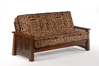 Solstice Queen Futon in Black Walnut   New-In-Box Vancouver