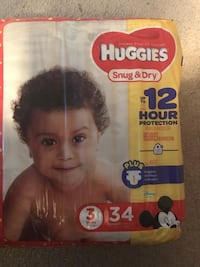 Huggies size 3 diapers Concord, 28025