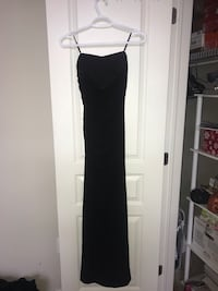 Long Black Fitted Dress (Size XS) Hamilton