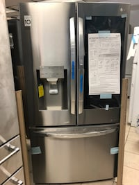 "Brand New 36"" LG InstaView 26 Cu Ft French Door Refrigerator (Scratch and Dent) Elkridge, 21075"