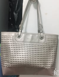women's white leather tote bag Ottawa, K1J 7X5