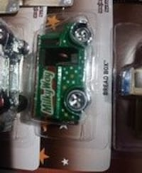 green and white MilkyWay print van scale model pack Vancouver, V5X 1L8
