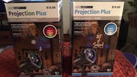 Christmas projection  plus motion lites both for $20.00 Winchester, 22601