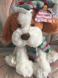 brown and white bear plush toy null
