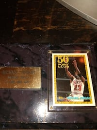 50 Point Club basketball trading card Tampa, 33605