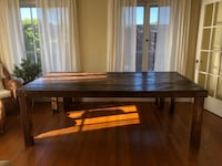 Indoor / outdoor farmhouse table with bench Los Angeles, 90005