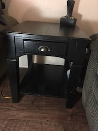 2 black end tables Carmichael, 95608