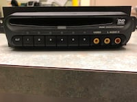 black 1-DIN car stereo head unit Toronto, M5P