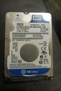 500 GB hdd Süvari, 06794