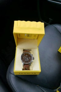 round brown chronograph watch Bordentown, 08505
