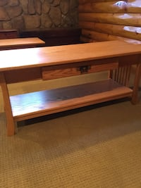 Three solid wood tables Amish made USA Upper Chichester, 19061