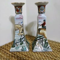 "Pair of 9.5"" tall gorgeous candle sticks Toronto, M2N 5W4"