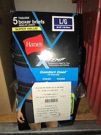 5 boxer briefs box
