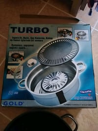 TURBO MARKA COMPACT GOLD GRILL