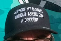 """Support My Business...."" Hat  Neptune Beach, 32266"