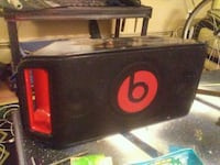black and red Beats by Dre speaker Surrey, V4N 0K3