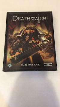 Deathwatch core rule book Coquitlam, V3K