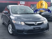 2009 HONDA CIVIC GREY