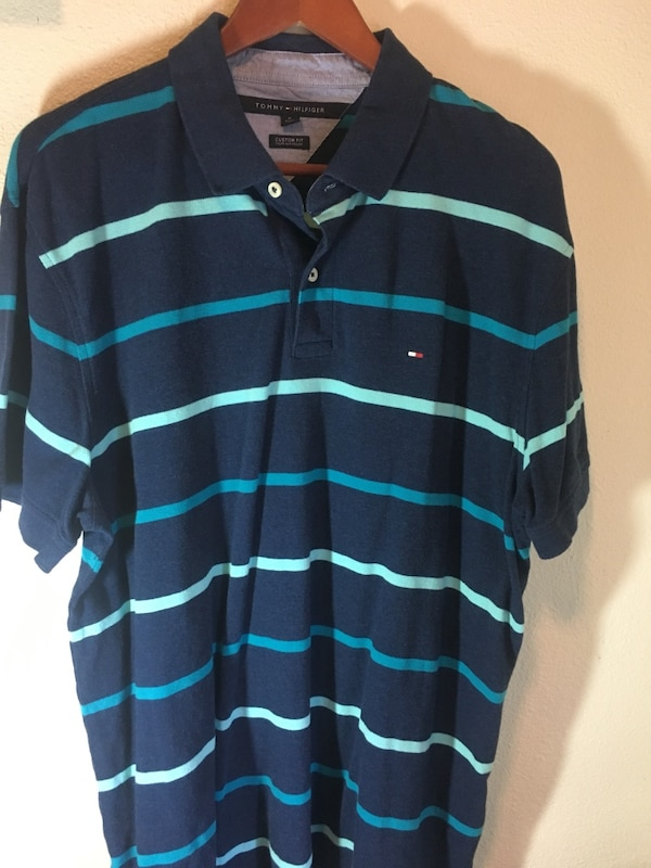 76efce5e Used Blue tommy hilfiger polo shirt for sale in Fresno - letgo