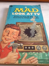 Rare Collectible early MAD magazine: A Mad Look At TV (book)