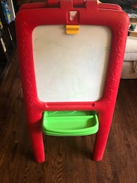 Kids double sided easel