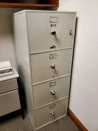 Fireproof filing cabinets 4 drawer