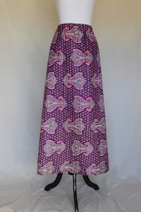 Pretty 1970s Quilted Maxi Skirt Castaic, 91384