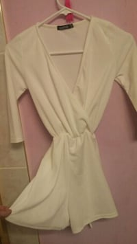 women's white long-sleeved dress Vancouver
