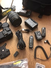 Nikon camera with accessories  Mississauga, L5A 2J2