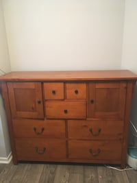 Brown wooden 6-drawer dresser or best offer  Lithia Springs
