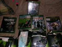 assorted Xbox 360 game cases Indianapolis, 46201