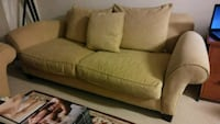 brown fabric 2-seat sofa Arlington, 22202