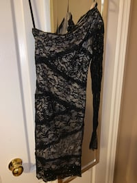 One sleeve dress from Bebe 561 km