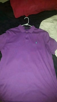 Ralph Lauren lavender polo Washington