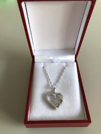925 Heart Necklace 786 km