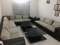 10 SEATER SOFA SET AND 2 TABLES Delhi