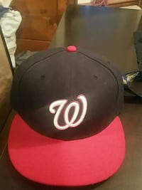black and red New Era snapback cap Fayetteville, 28303