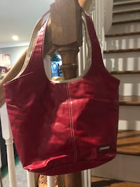 Red soft leather purse Dothan, 36303