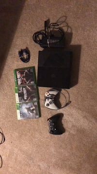 Xbox 360 HdmI cable 3 games and 2 controllers Clarksburg, 20871