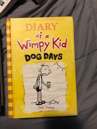 Diary of a wimpy kid books  Mississauga, L5L 1G5