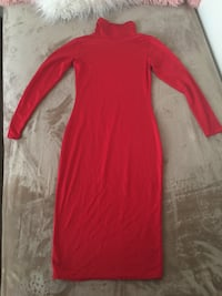Red dress size small. Very stretchy. Bakersfield, 93305