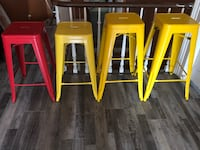 4 stackable stools  Bowmanville, L1C 1S9