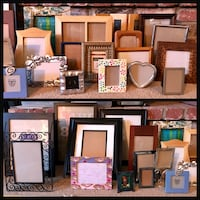 Lot of 28 Frames Various Sizes All In Good to Excellent Condition
