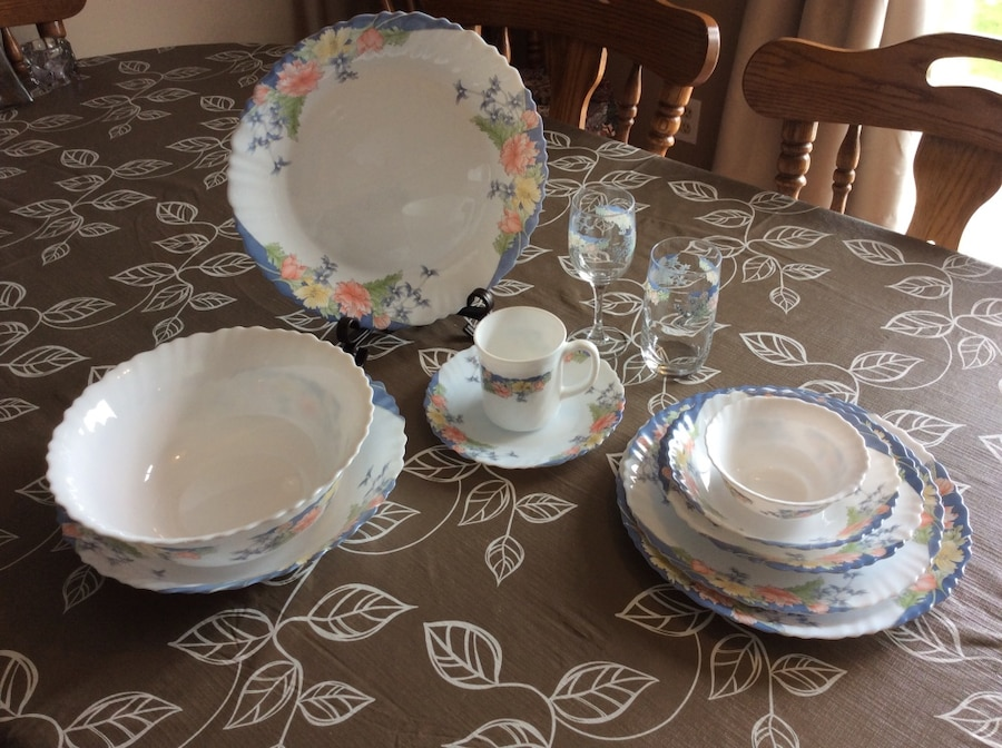 & Used Arcopal France Florine Dinnerware in Leamington