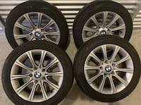 205/55/16 BMW RIMS AND TIRES $400 Guelph, N1L 0A6