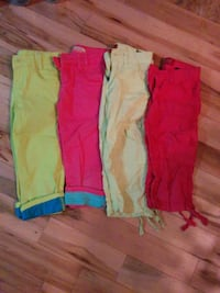 Girls size 7 & 8 capris lot. Clarence-Rockland, K0A 1E0