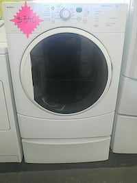 white front-load clothes washer Santa Rosa