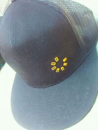 black and yellow and white fitted cap Visalia, 93292