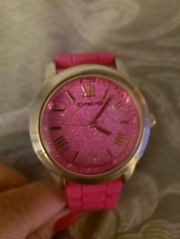 Bebe watch , pink and gold tone 40 km