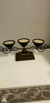 black and white ceramic candle holders St. Louis, 63121